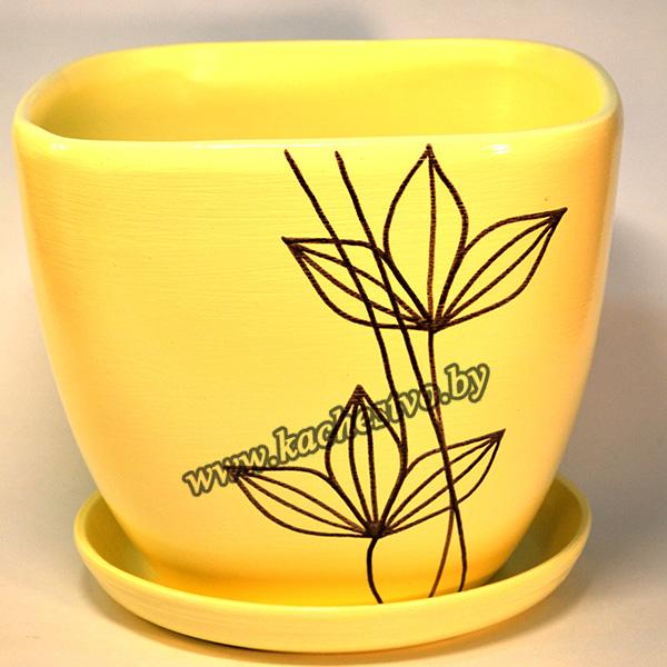 Керамические горшки для цветов (44)